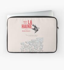 La Haine (Hate) Vincent Cassel,  Mathieu Kassovitz, alternative movie poster, 1995 french film about banlieue life Laptop Sleeve