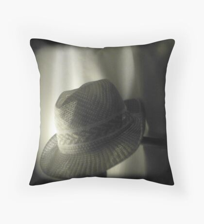 Hats Alone Throw Pillow