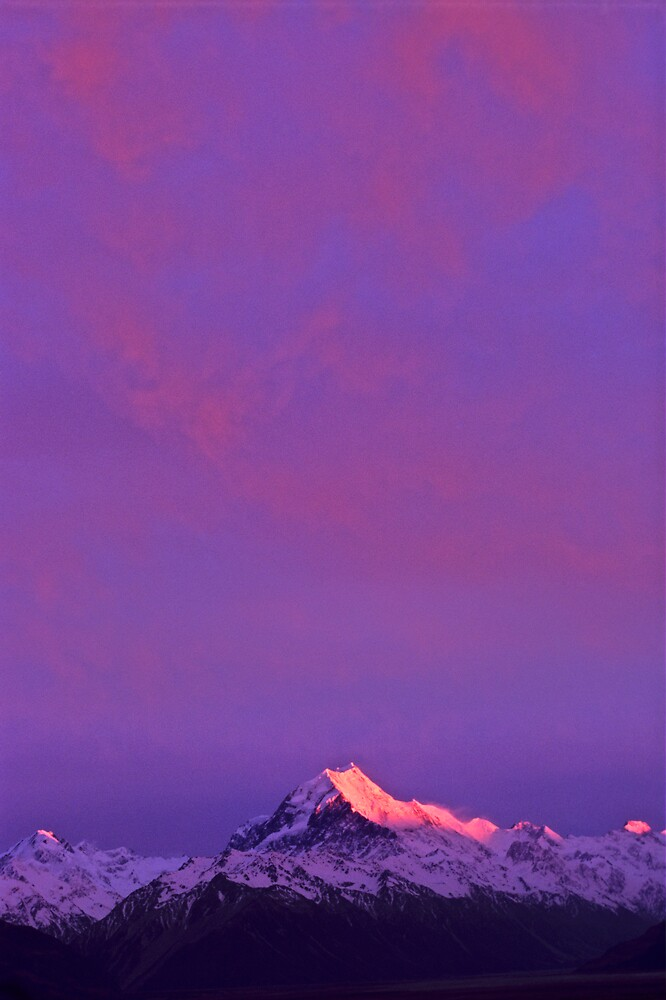 Mount Cook by Kasia Nowak