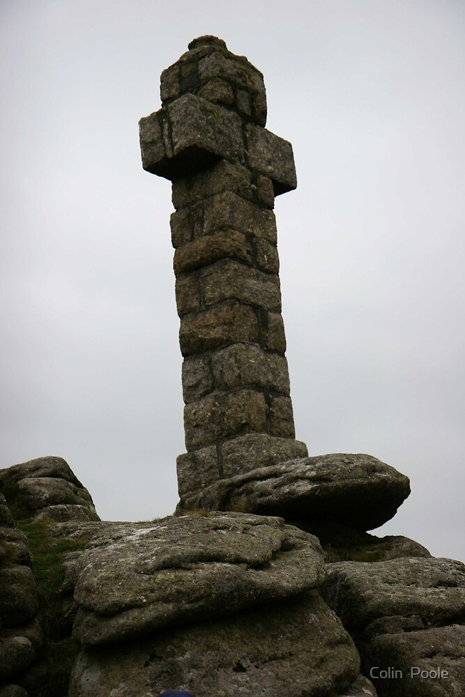 Widgerys Cross  by Colin  Poole