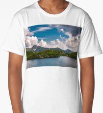 glacier lake Capra in Southern Carpathians Long T-Shirt