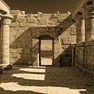 Temple of Maharraqa by Nigel Fletcher-Jones