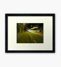 Attractive Traffic Framed Print