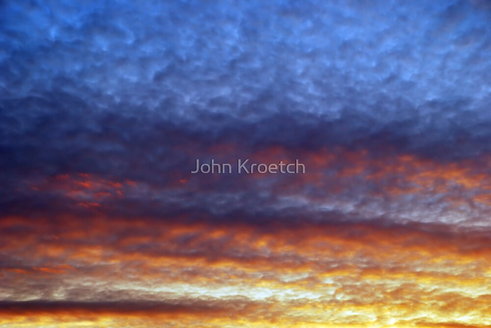 Colorful Sky by John Kroetch