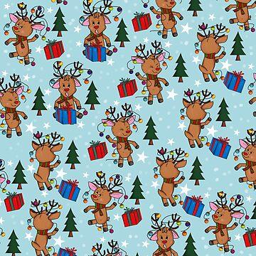 Christmas_Reindeer by mitalim