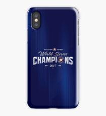 Houston Astros Champions 2 iPhone Case/Skin