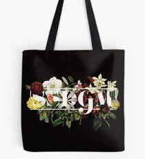 SSDGM Murderino Flower Illustration My Favorite Murder Tote Bag