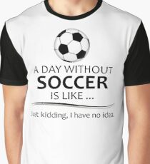 Soccer Gifts for Football Lovers Graphic T-Shirt