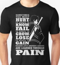 SAO - are learned through pain Unisex T-Shirt