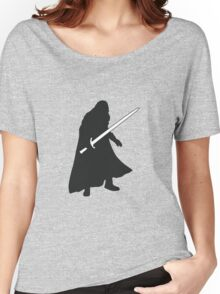 Jon Snow - Game of Thrones Silhouette Women's Relaxed Fit T-Shirt