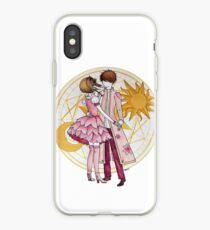 Sakura and Syaoran's dancing iPhone Case