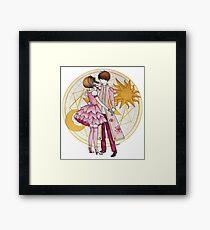 Sakura and Syaoran's dancing Framed Print