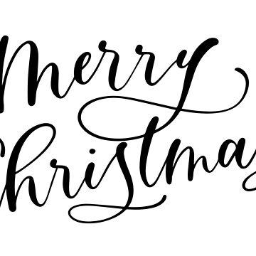 Feliz Navidad de stemandflourish