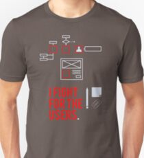 I Fight For The Users LE968 Trending T-Shirt