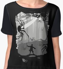 The Little Limbbit and the Spiders Women's Chiffon Top