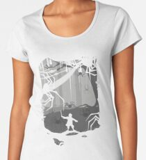 The Little Limbbit and the Spiders Women's Premium T-Shirt