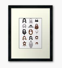 The Bearded Company Framed Print