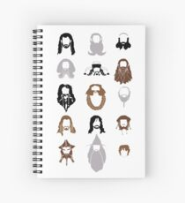 The Bearded Company Spiral Notebook