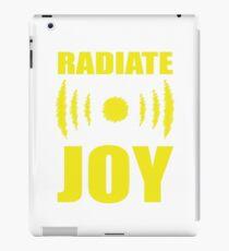 Radiate Joy iPad Case/Skin