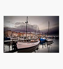 Constitution Dock, Hobart Wharf, Tasmania Photographic Print