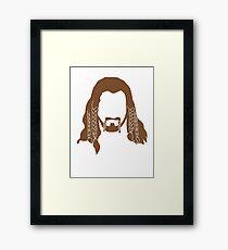 Fili's Beard Framed Print