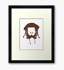 Ori's Beard Framed Print