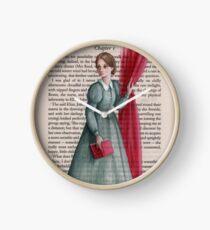 Jane Eyre - Charlotte Bronte Clock