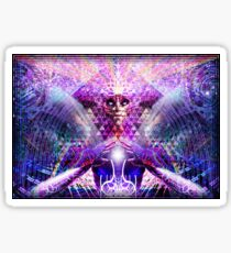 Trans-dimensional Deity Sticker