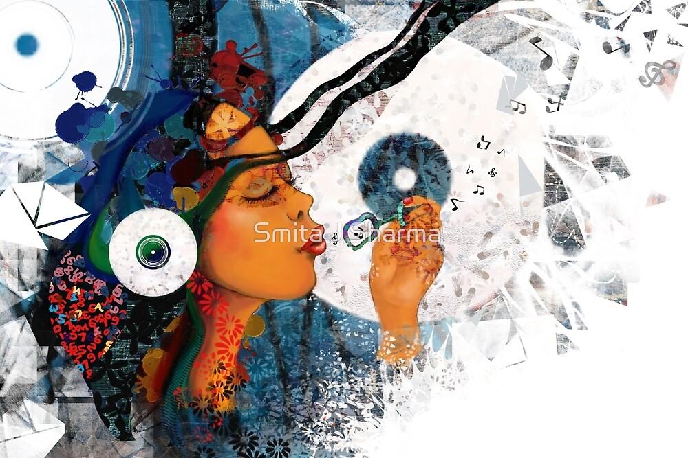 Birth of a tune  by Smita J Sharma