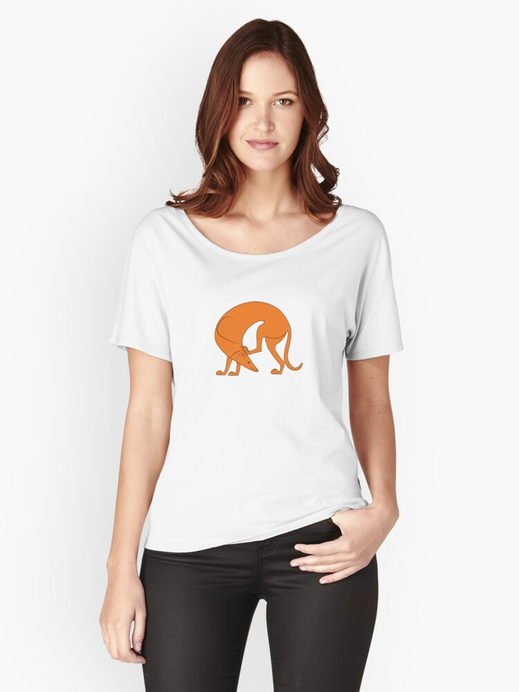 Laconian Hound Dog #1 Women's Relaxed Fit T-Shirt Front