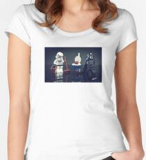Storm & Darth Women's Fitted Scoop T-Shirt