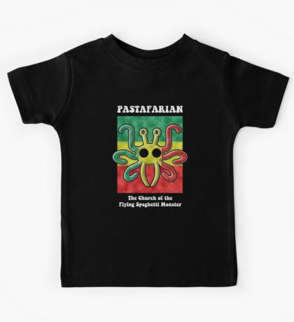 Pastafarian -- The Church of the Flying Spaghetti Monster Kids Clothes