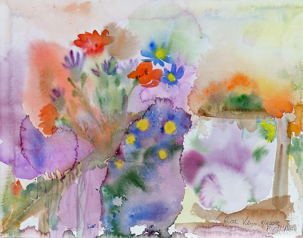 Kirsti's garden by Ruth Vilmi
