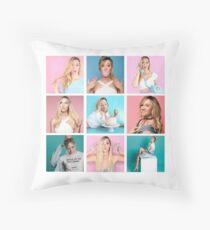 Alisha Marie Throw Pillow