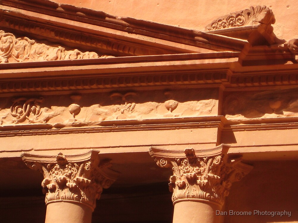 Detail of the Treasury at Petra by Dan Broome Photography