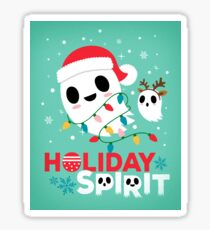 Holiday Spirit - Humor Sticker