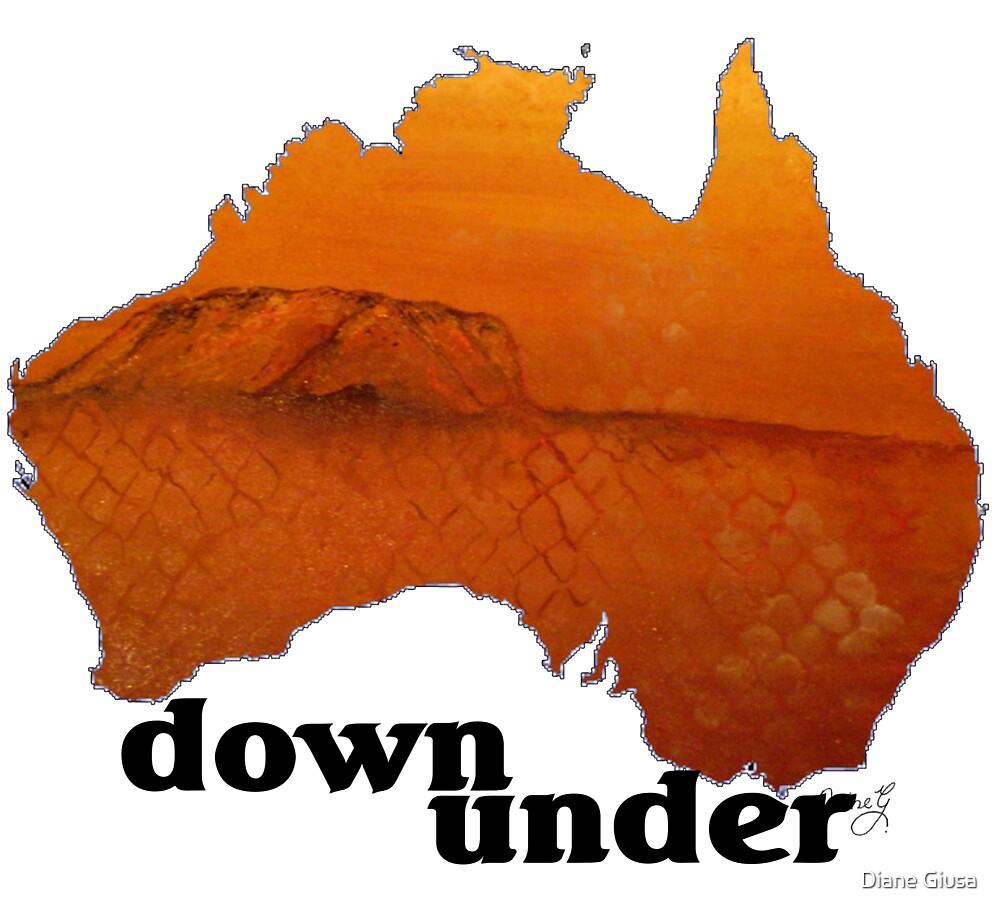Down under by Diane Giusa