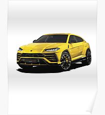 Sports SUV Poster