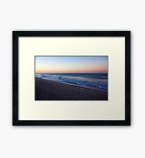 Sunrise At Manasota Key Framed Print