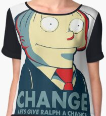 Ralph Wiggum for President 2016 Chiffon Top