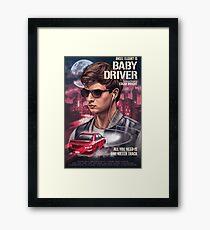 Baby Driver Art Framed Print