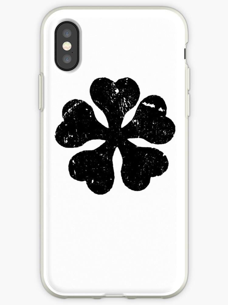 coque iphone 5 black clover