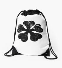 Black Clover Anime Logo T Shirt for Anime Lovers Drawstring Bag