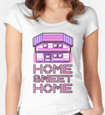 Pokemon home sweet home Women's Fitted Scoop T-Shirt