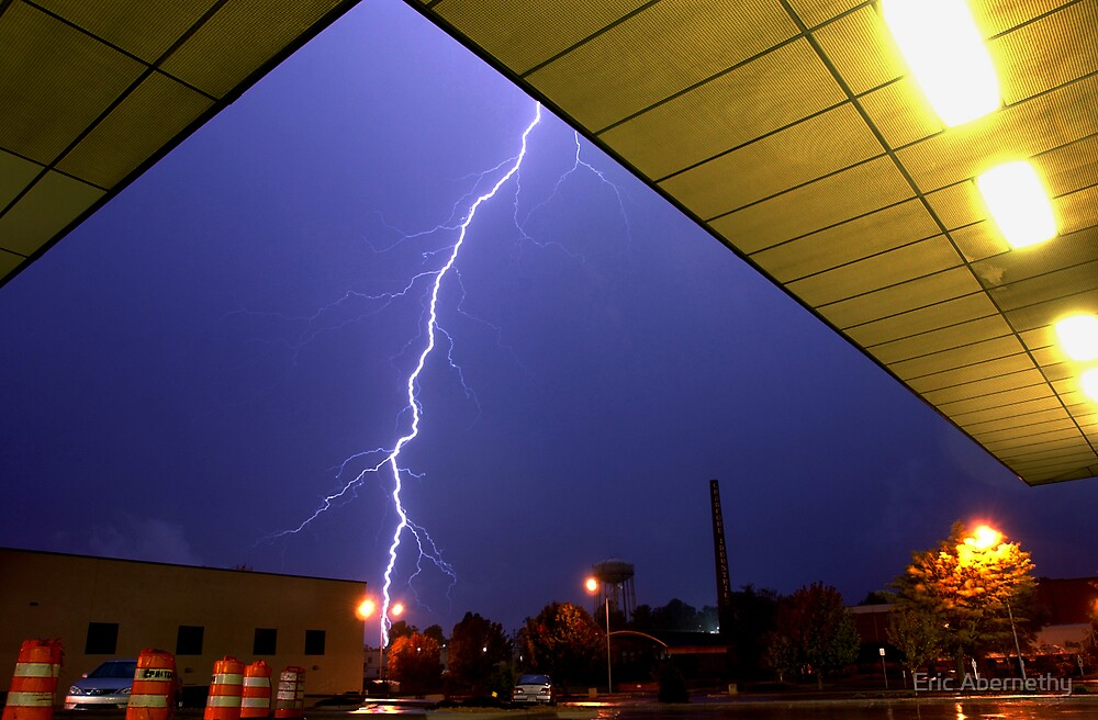 Lightning in the Park by Eric Abernethy