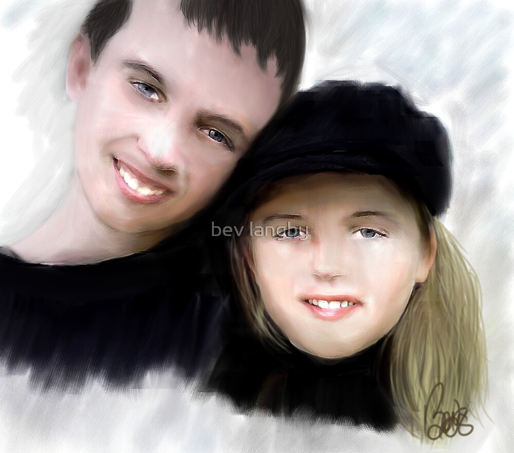 Jay and Kaylee 2 by bev langby