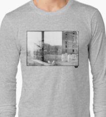 photo fade building Long Sleeve T-Shirt