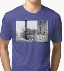 photo fade building Tri-blend T-Shirt