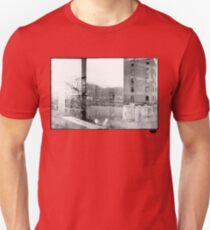 photo fade building Unisex T-Shirt
