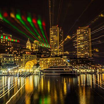 Christmas Light of Boston  by LudaNayvelt